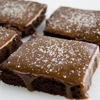 Salted Caramel Brownies by Mimi's Cookie Bar