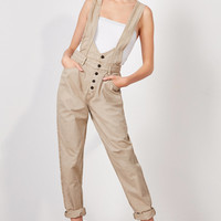 BDG Suspender Drop Overall | Urban Outfitters