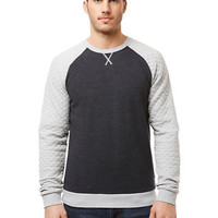 Buffalo David Bitton Findwell Quilted Raglan Pullover