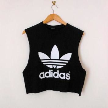 classic back adidas swag style crop top tshirt fresh boss dope celebrity festival clot