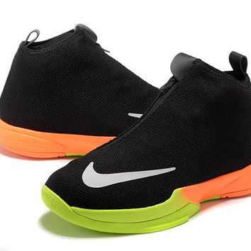 VAWA Nike Zoom Men's Kobe ZK6 Icon High Basketball Shoes Black Orange