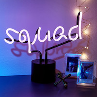 Squad Neon Table Lamp | Urban Outfitters
