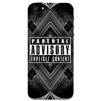 Parental Advisory Explicit Content iPhone 5 / 5S Case