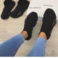 Balenciaga Men's and Women's Tide Brand High-Quality Casual Shoes F