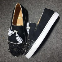 Cl Christian Louboutin Flat Style #745 - Best Deal Online