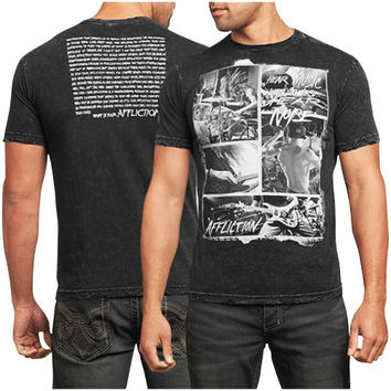 Affliction Creed More Noise T-Shirt - Black