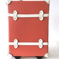 Steamline x Ix Style Coral Suitcase