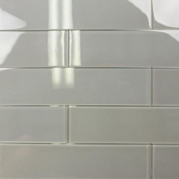 Canvas 3X12 Subway Glass Tile