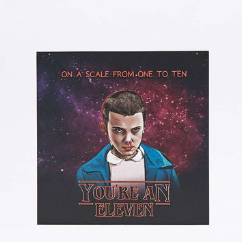 Youre An Eleven Card - Urban Outfitters