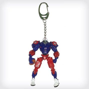 Buffalo Bills Keychain Fox Robot 3 Inch Mini Cleats