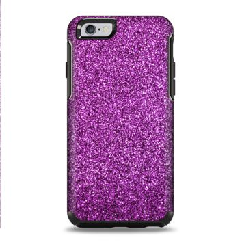 The Purple Glitter Ultra Metallic Apple iPhone 6 Otterbox Symmetry Case Skin
