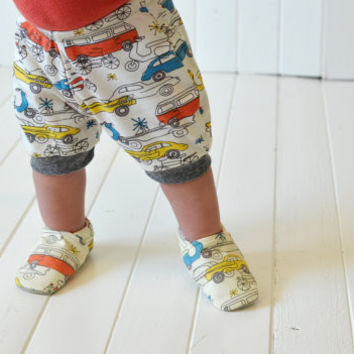 "Organic ""Car"" Shoes - NB to 4T"