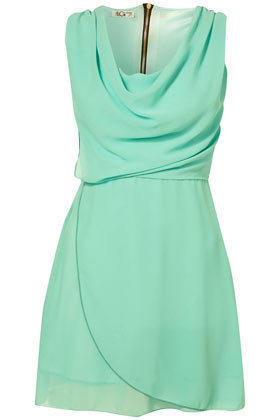 **Cowl Neck Wrap Dress by Wal G