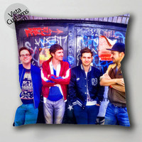 walk the moon 3 pillow case, cushion cover ( 1 or 2 Side Print With Size 16, 18, 20, 26, 30, 36 inch )