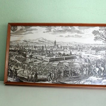 Photo Picture - The Swedish siege of Frankfurt Main, Germany, Collectible, Wall Decor, WWII