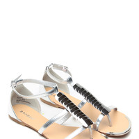 Silver Gipsy Soul Caged Sandals