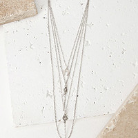 Horseshoe Charm Layered Necklace