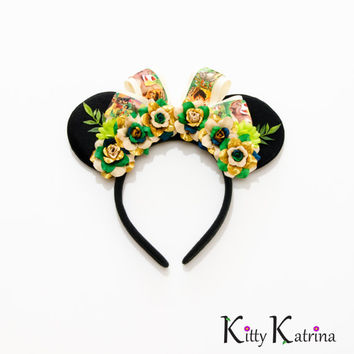 Jungle Book Mouse Ears Headband, Jungle Book Birthday, Jungle Book Party, Disney Ears, Disney World, Disneyland, Disney's Animal Kingdom