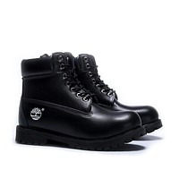 timberland fashion classic casual high help shoes martin boots black