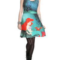 Disney The Little Mermaid Ariel And Sebastian Dress