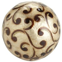 Capiz Sphere with Scrolls