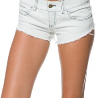 BILLABONG LANEWAY COLORS CUT OFF DENIM SHORT