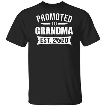 Vintage Promoted to Grandma Est 2020 First New Grandma Gift