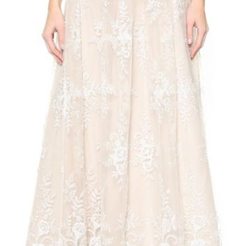 alice + olivia Carter Flare Ball Gown Skirt