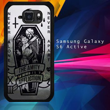 Amity Affliction Band L1344 Samsung Galaxy S6 Active  Case