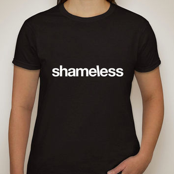 "Shameless TV Show ""Shameless Logo"" T-Shirt"