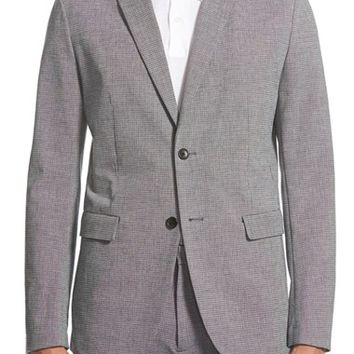 Men's Theory 'Tobius F Sl. Carling' Trim Fit Crosshatch Sport Coat,