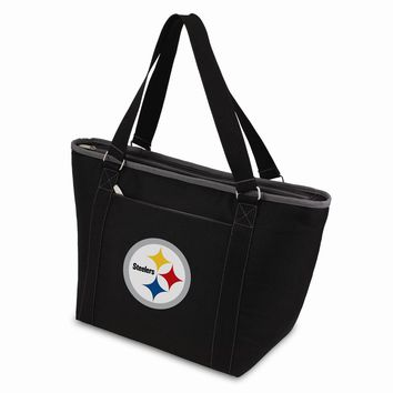 Pittsburgh Steelers Insulated Black Cooler Tote