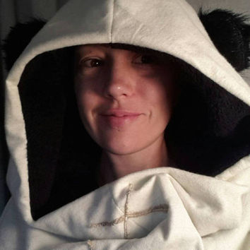 Ewok Costume extra large Ewok inspired hood for Star Wars fan!