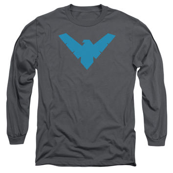 Adult Batman/Nightwing Symbol Long Sleeve