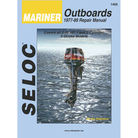Seloc Service Manual - Mariner Outboards - 1-2 Cyl - 1977-89
