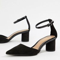 Bershka point mid shoe in black at asos.com