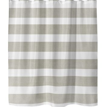 CENTERVILLE TAN Shower Curtain By Terri Ellis