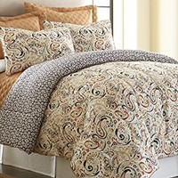 6-PIECE COMFORTER-COVERLET SETS MAVIA KING