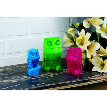 THE OWL FAMILY SET OF 3