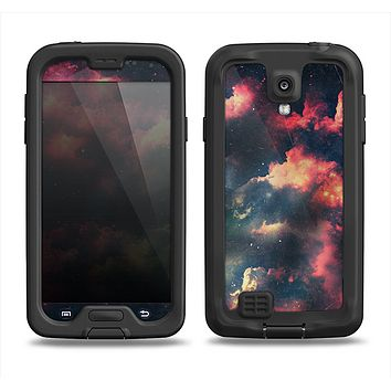 The Vintage Stormy Sky Samsung Galaxy S4 LifeProof Fre Case Skin Set