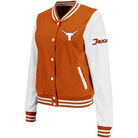 Texas Longhorns Womens Comeback Jacket - Burnt Orange
