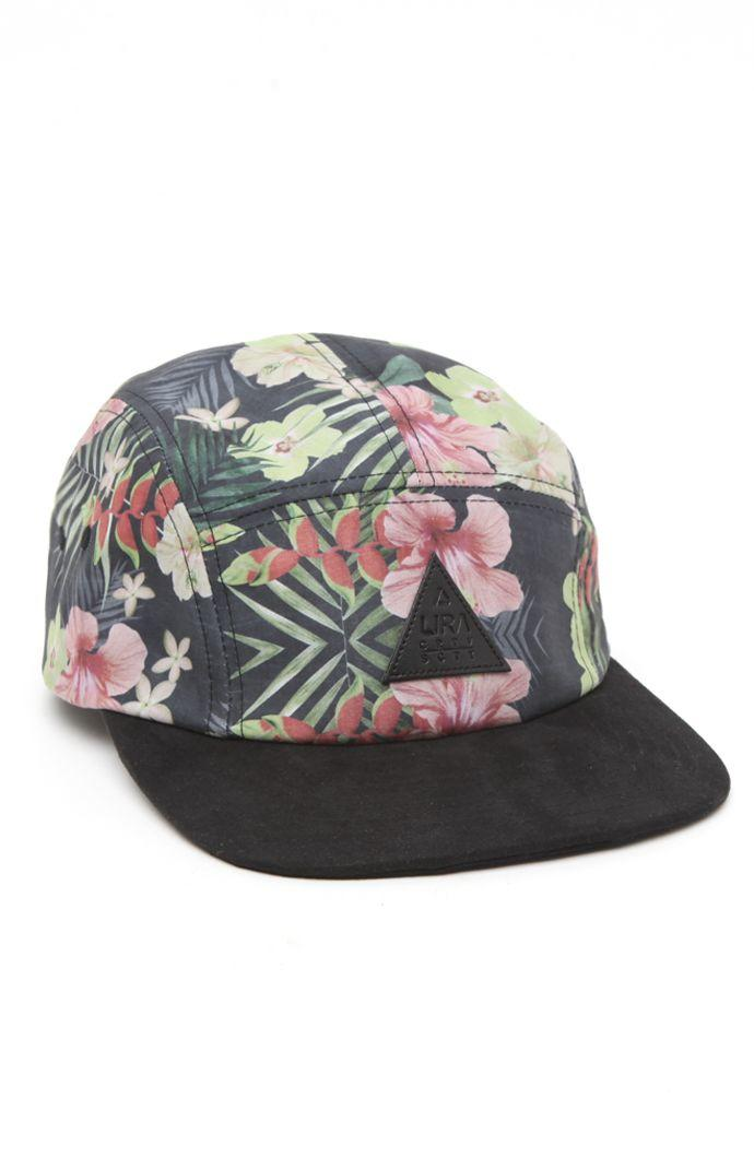 Lira Floral Camper 5 Panel Hat - Mens from PacSun  c6ede82fc7c