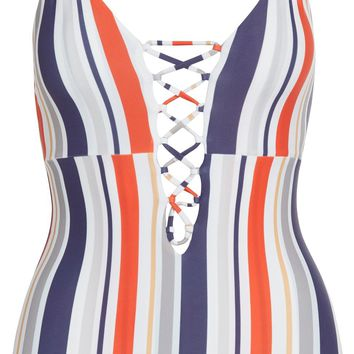 Cami & Jax - Marla One Piece | Nautical Stripe