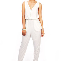 Eccentric Zipped Jumpsuit