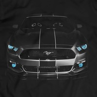 Mustang GT F-35 2015 Lightning Edition T Shirt Tees Women Men Gift Idea Present V8 powered Holiday Gift Birthday