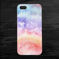 Watercolors Abstract Seapunk iPhone 4 and 5 Case