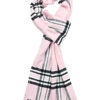 Achillea Scottish Tartan Plaid Cashmere Feel Winter Warm Scarf Unisex