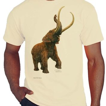 Charging Wooly Mammoth T-shirt/tee