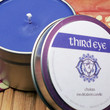 THIRD EYE CHAKRA CANDLE - Open Your 3rd Eye Increase Your Psychic Senses