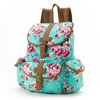 Candie's Floral Cargo Backpack